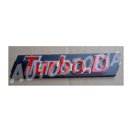Monogramme de grille de calandre - Uno Turbo Diesel