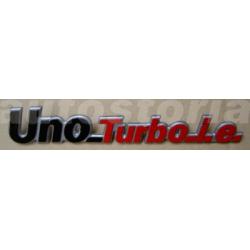 Monogramme arrière - Uno Turbo IE