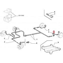Left Rear hose ABS - Lancia Lybra