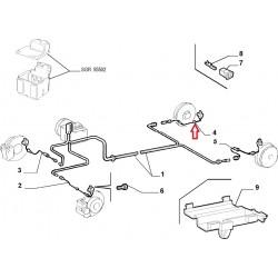Right Rear hose ABS - Lancia Lybra