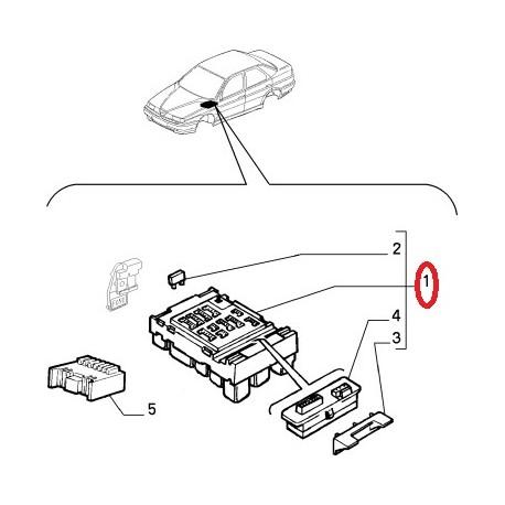 fusebox alfa romeo 155 electricity 60549174 Audi A8 Fuse Box Location fusebox alfa romeo 155