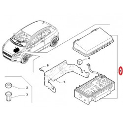 Boite a fusibles - Fiat Grande Punto