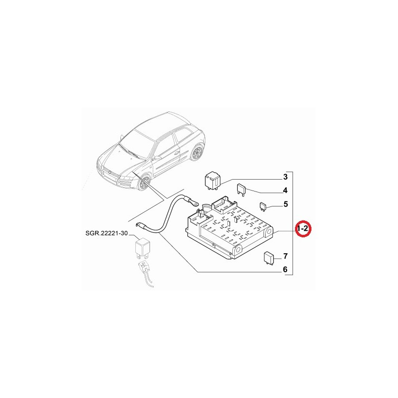 Fuse Box For Fiat Stilo - Schematic Diagrams