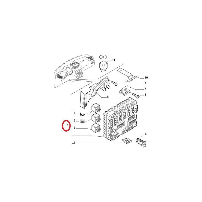 Alfa Romeo Fuse Box Diagram on