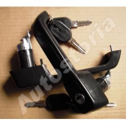 Set of outer door handles - Uno Restyling 5P 1989-