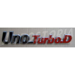 Rear emblem - Uno Turbo Diesel