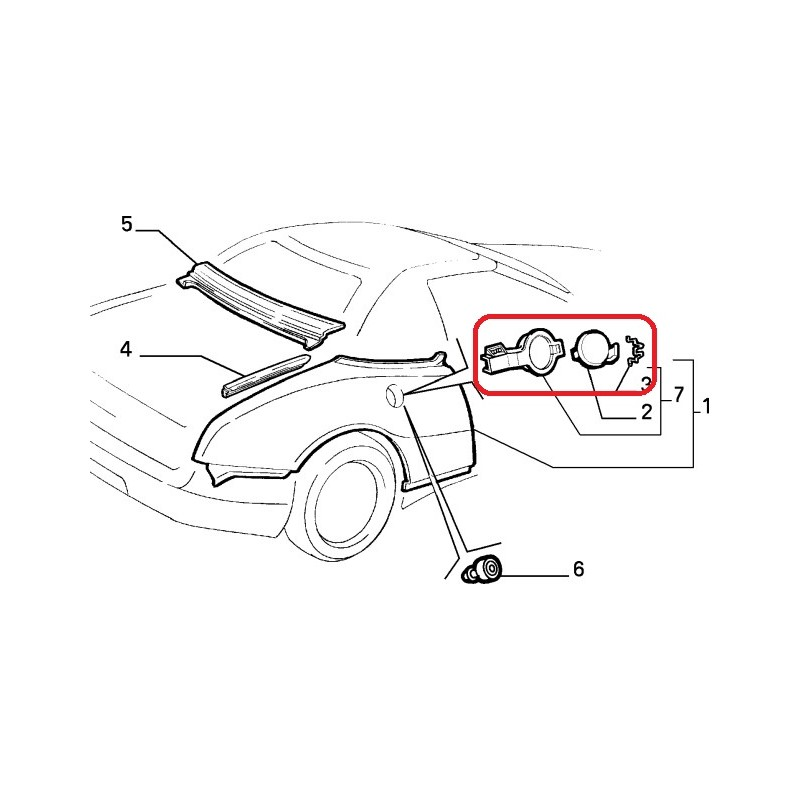 60591792 Fuel Cap System