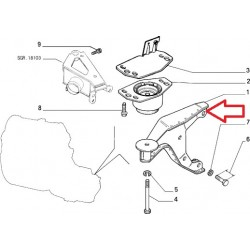 Engine support - Alfa Romeo / Fiat / Lancia