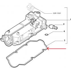 Seal Gasket - Alfa Roméo / Fiat / Lancia