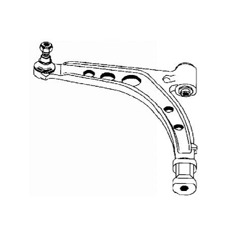 Right front suspension arm - Cinquecento/Seicento