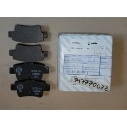 Rear brake pads - Fiat Grande Punto