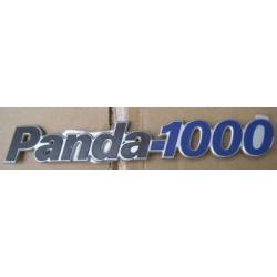 Rear emblemPanda 1000 All (1991 - )