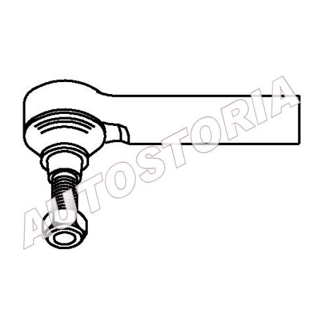 Tie rod end - Fiat Idea 2004-->