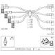 Ignition cable setPunto 1.6/Tempra 1.6 i.e.