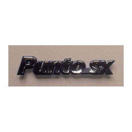 Rear emblem Punto SXPunto