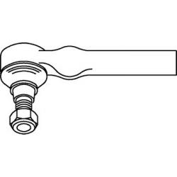 Rotule de direction Fiat Punto / Barchetta / Lancia Ypsilon