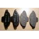 Front brake pads set - Punto