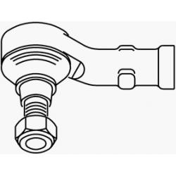 Left tie rod end147/156/166/GT