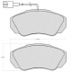 "Set of 4 front brake pads ""BOSCH"" - Fiat Ducato"