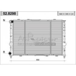 Engine cooling radiatorAlfa Romeo 156 1.8/2.0/2.5