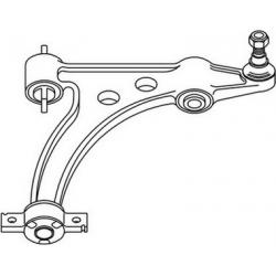 Left Suspension arm Lower166