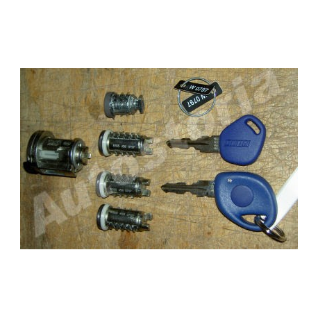 Lock cylinders with keys - Punto