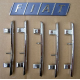 Radiator grill molding kit - Uno Restyling All 1990 --