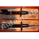 Set of front shock gascharged absorbers - For Fiat Uno Turbo D All