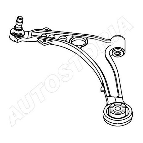 Triangle de suspension avant gauche Fiat Idea / Lancia Ypsilon