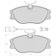 "Set of 4 front brake pads ""GIRLING""Alfa Romeo 164"