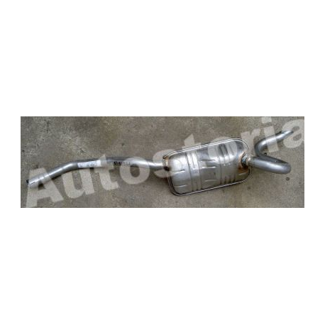 Rear exhaust -  Fiat Punto 60/60Cabrio/75/85/90