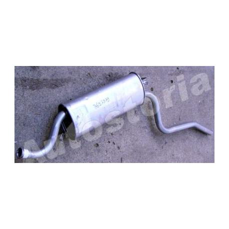 Rear exhaust - Cinquecento 700 / 900 1992--