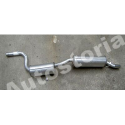 Rear exhaust - Uno Turbo ie 09/1989 --