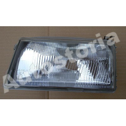 Left asymmetric Headlamp (suitable) - Uno Restyling (07/1989-1994)
