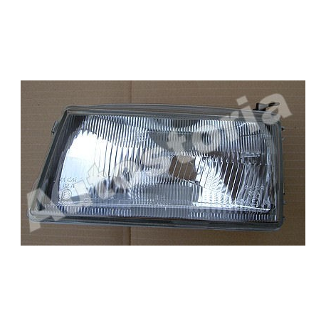 Left asymmetric Headlamp (suitable) - Uno Restyling (07/1989-->1994)