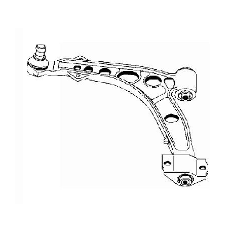 Left front suspension arm - Barchetta / Punto