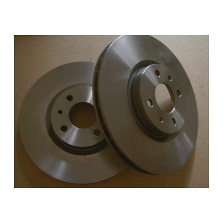 Pair of front brake discsAlfa Romeo/Fiat/Lancia