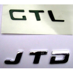 """Sigla posteriore """"JTD""""Doblo/Idea/Panda/Punto/Stilo"""