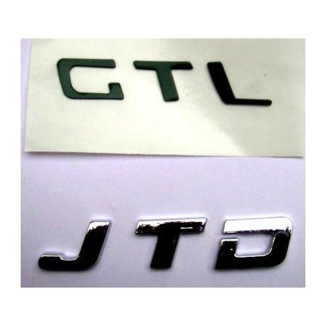 "Rear emblem ""JTD""Doblo/Idea/Panda/Punto/Stilo"