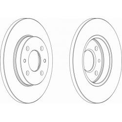 Brake discs - Fiat / Lancia
