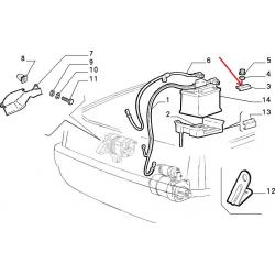 Battery mount - Autobianchi Y 10 / Fiat Panda 141
