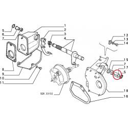 Pedal bush - Autobianchi Y10 / Fiat Panda