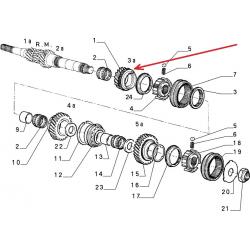 Synchronizer - Alfa Romeo / Fiat / Lancia