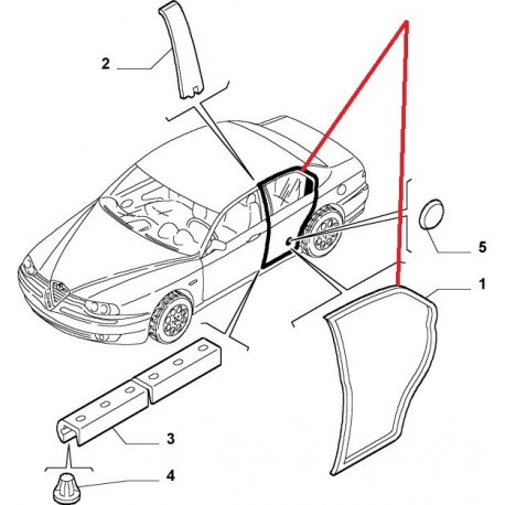 Pad Boot Panel Trim 22257206 also 12787 Joint De Boitier De Ventilation moreover 7q3qu Wrangler Unlimited Front Seat Won T Recline likewise 13730 Scritta Pininfarina Fiat Coupe 175040560 in addition 11630 Tuyau 46533516. on 2008 fiat grande punto