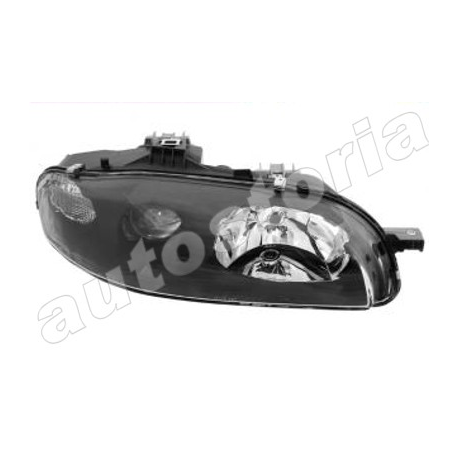 Right H1 + H1 Headlamp - MAREA HLX - ELX (BERLINA/SEDAN - S.W.) (09/1996 -> 1999 )
