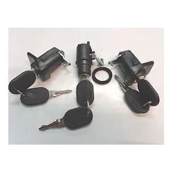 Lock cylinders with keysPanda (1988 - 1994)