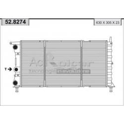 Engine cooling radiator - Fiat Punto 1,7 D / 1,7 TD