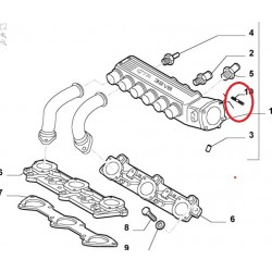 Exhaust manifold Bolt - Alfa Romeo / Lancia