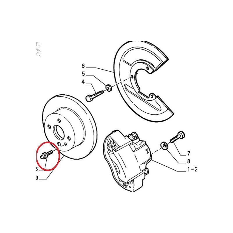 ke disc Bolt 60501596 Alfa Romeo 33 Alfa Romeo Wiring Diagram on