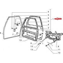 Left door - Lancia Ypsilon (1992 -- 1995)